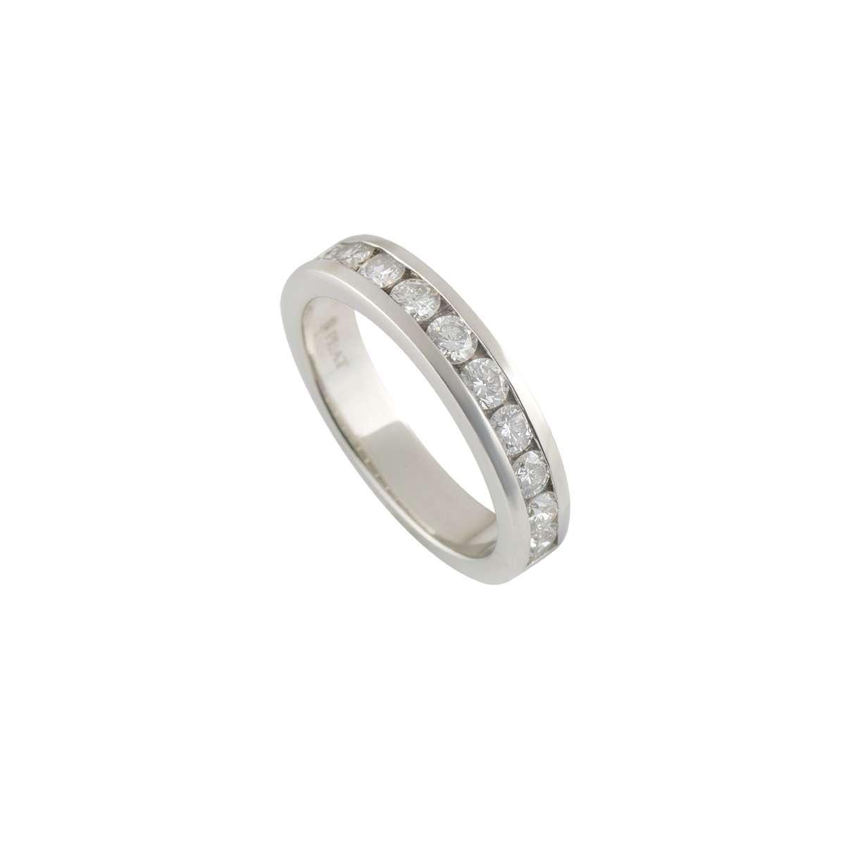 Half Eternity Diamond Ring in Platinum 0.77ct G/VS